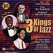 3 Kings of Jazz: the Music of Louis Armstrong, Bix Beiderbecke and Jelly Roll Morton