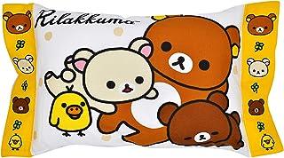 モリシタ(Morisita) 子供用枕 リラックマ 39×28×9cm SAN-X サンエックス 洗える ジュニア用枕 4620288