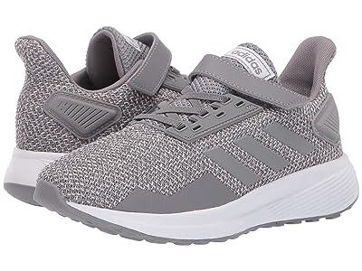 adidas Kids Duramo 9 (Little Kid) (Grey) Boys Shoes