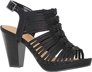 MVE Shoes Womens Thick Platform Chuncky Heeled Sandals Criss Cross Straps