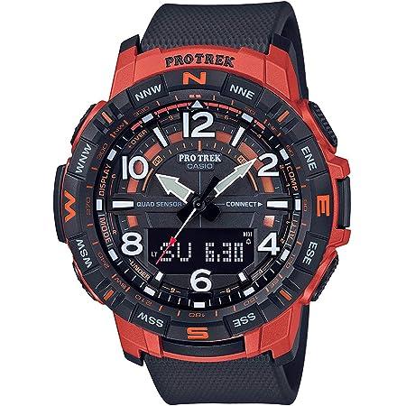 CASIO Men's Pro Trek Bluetooth Connected Japanese Quartz Sport Watch with Resin Strap, Black, 22.58 (Model: PRT-B50-4CR)