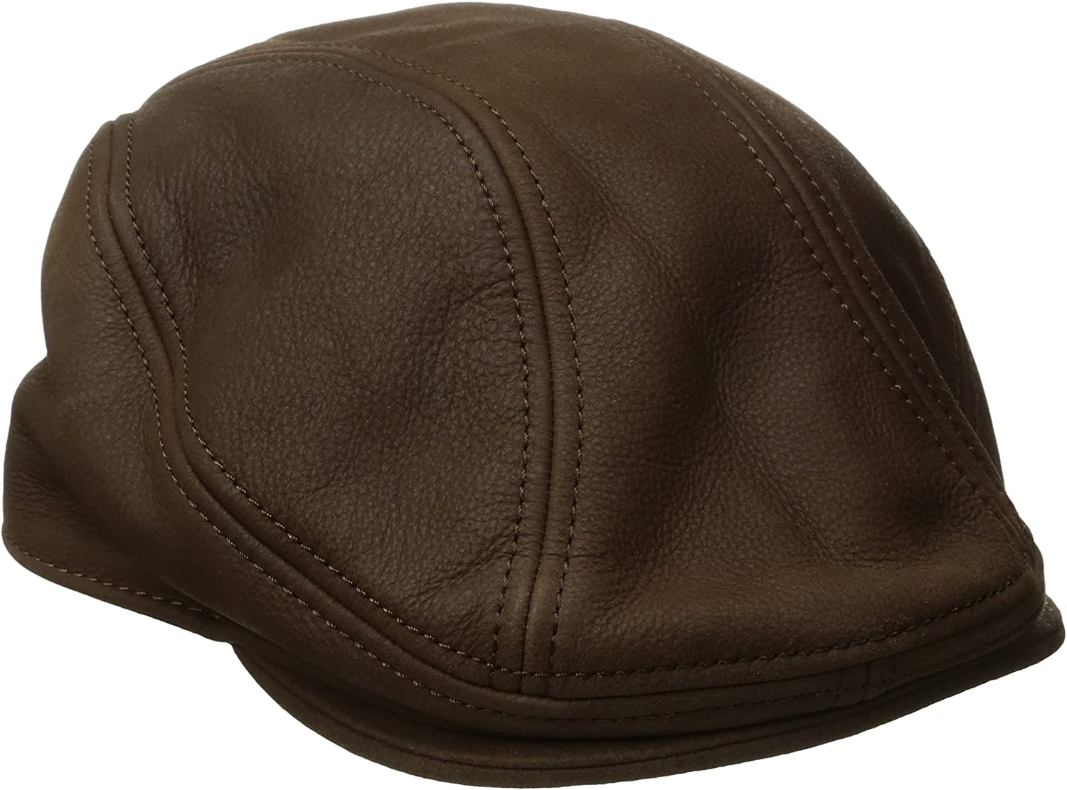 Stetson Men's Oily Timber Leather Ivy Cap