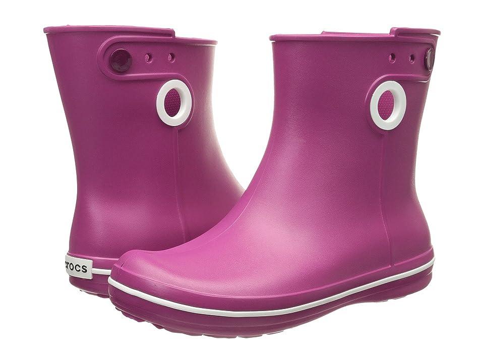 Crocs Jaunt Shorty Boot (Berry) Women