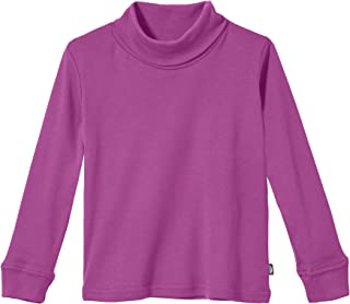 City Threads Boys and Girls Turtleneck 100% Cotton in Basic Colors (Sizes: Baby - Teen) for School Base Layering - USA Made
