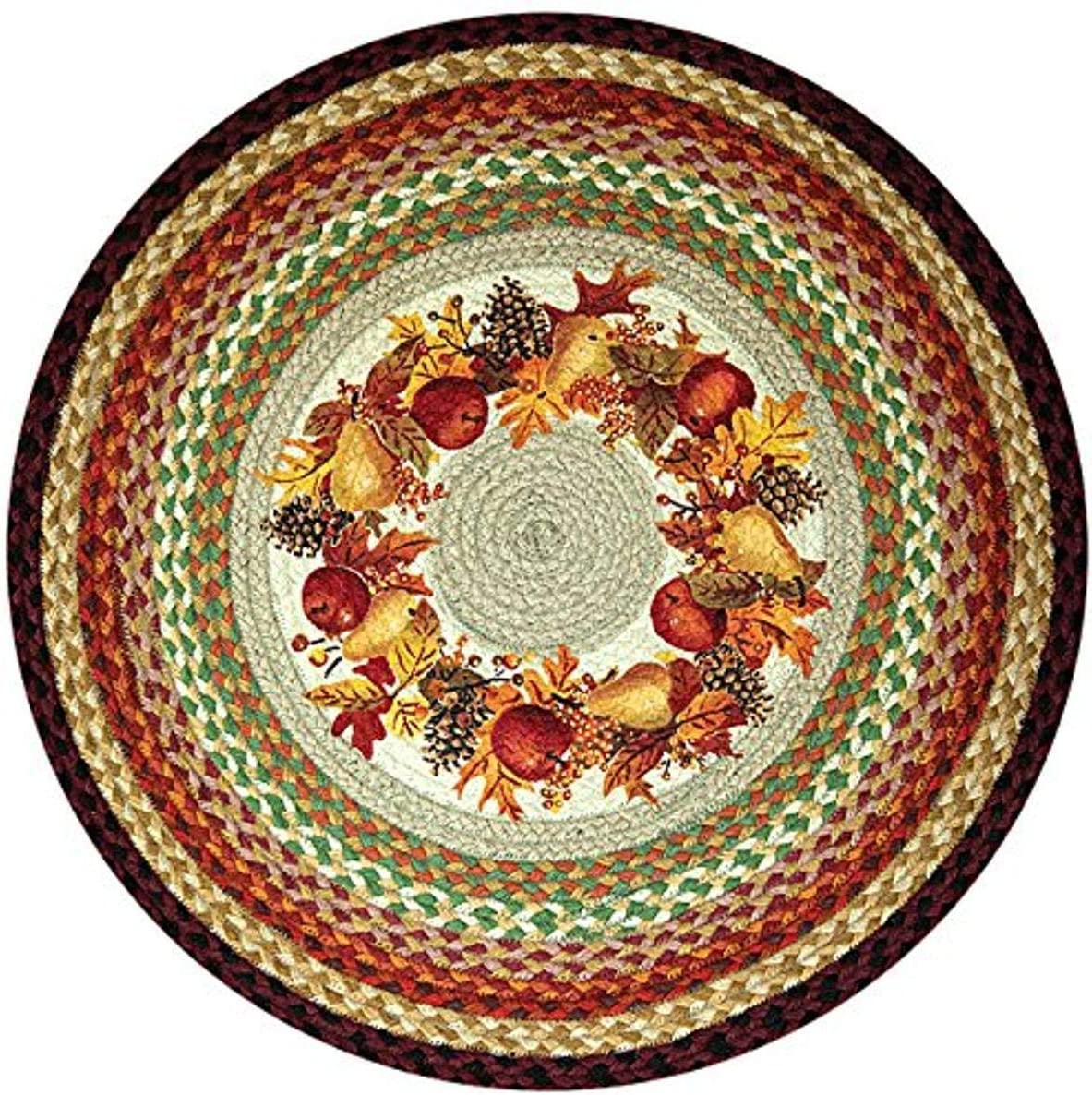 Earth Rugs Round Rug 27