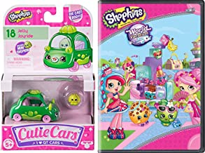 Cutie Shopkins Car & Toon! Double Pack World Vacation and 1 QT car Grab your boarding pass and ride in your cute vehicle