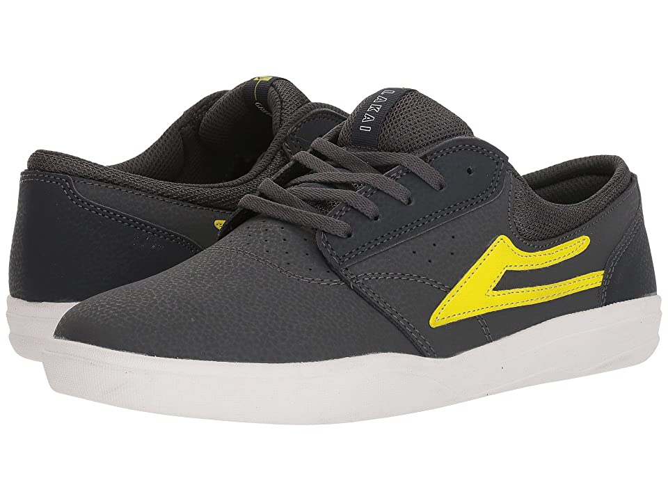 Lakai Griffin XLK (Charcoal/Lime Nubuck) Men