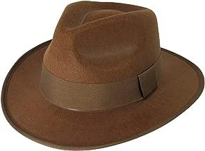 Forum Novelties Men's Deluxe Adult Fedora Hat