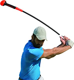 Rukket Golf Swing Trainer | Equipment & Training Aids for Tempo & Speed Practice | Flex Tool Whip Club | Weighted Warm Up Stick & Wrist Aid | Impact Power Weight