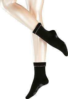 Calcetín Hasta la pantorrilla - 1 par - Suela con almohadillas - Con reverso - Antideslizante - todo tejido de rizo - Chaude - Cosy