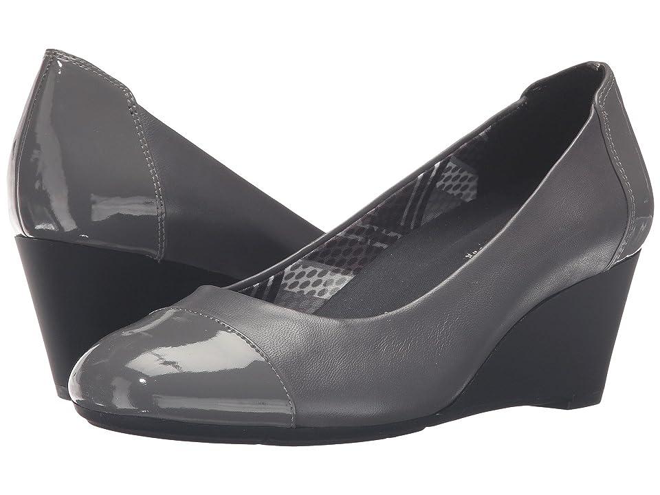 Naturalizer Necile (Graphite Lead Leather/Suede) Women