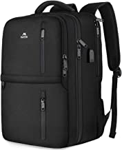 School Laptop Backpack, Lightweight College Computer Bookbag with Shoe Compartment USB Charging Port for Teens Student, Matein Anti-Theft Carry On Travel Backpack Fit 15.6 inch Notebook,Black