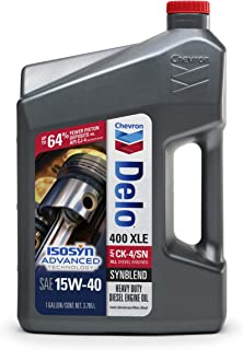 Delo 39146-CASE 400 XSP SAE 5W-40 Synthetic Motor Oil - 1 Gallon Jug, (Pack of 3)