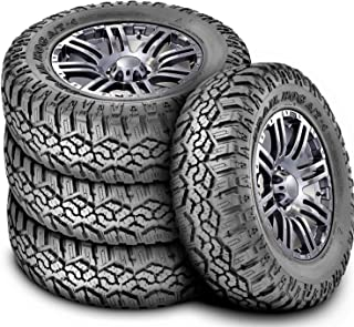 Set of 4 (FOUR) Kanati Trail Hog A/T-4 All-Terrain Radial Tires-35X12.50R20LT 121Q LRE 10-Ply