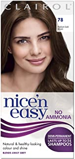 Clairol Nice'n Easy Semi-Permanent Hair Dye No Ammonia