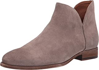 Frye Women's Melissa Shootie Ankle Boot, Stone, 7.5