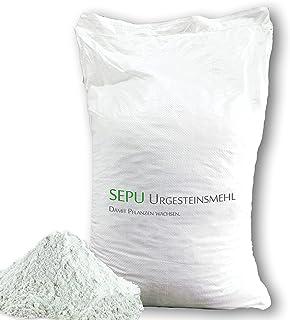 baumgrün 25kg Urgesteinsmehl Steinmehl Gesteinsmehl Natursteinmehl Universaldünger Bodenhilfsstoff Bodenaktivator Bodenverbesserer hochfein 25 kg