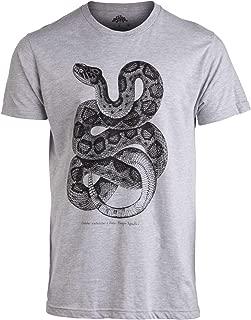 Texas Danger Noodle | Vintage Rattlesnake Biology Art Funny Snake Men Women T-Shirt