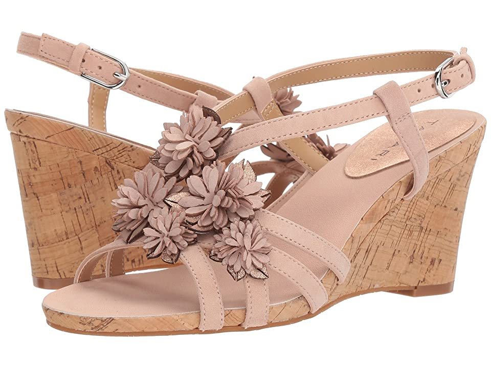 Tahari Favor (Blush Suede) Women