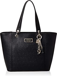 GUESS Women's Kamryn Tote, Black - VD669123