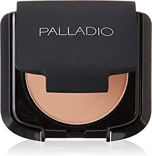 Palladio Dual Wet and Dry Foundation with sponge and Mirror, Natural Clary, 0.28 Ounce