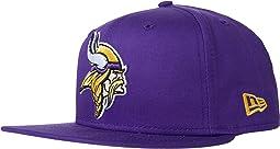 NFL Basic Snap 9FIFTY Snapback Cap - Minnesota Vikings