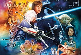 Buffalo Games Star Wars - The Force is Strong with This One - 2000 Piece Jigsaw Puzzle