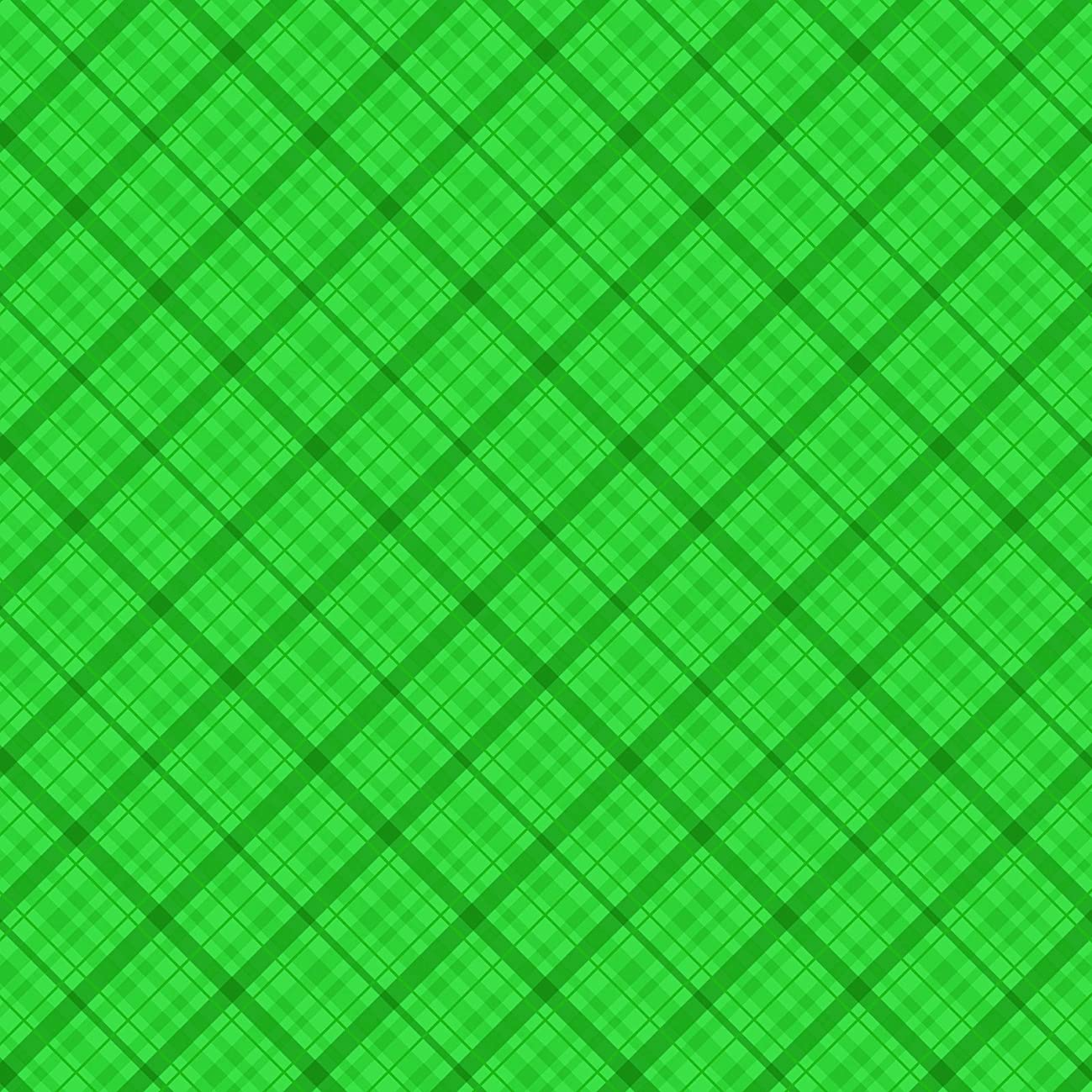 American Crafts Core'dinations 12 Pack of 12 x 12 Inch Patterned Paper Dark Green Plaid,