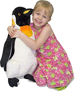 Melissa & Doug Penguin Giant Stuffed Animal (Wildlife, Soft Fabric, Beautiful Penguin Markings, 23.5