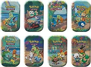 Pokémon USA, Inc. | Pokemon TCG: Vieringen Mini Blikken (25e Anniv) 8 ct Display | Kaartspel | Leeftijd 6+ | 2 Spelers | 2...