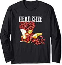 New Orleans Southern Locals Crawfish Boil Chef  Long Sleeve T-Shirt