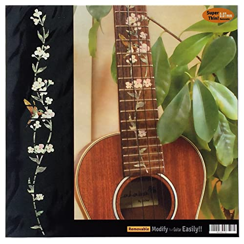 Stringed Instruments Tree Leaves Print Acoustic Guitar Fingerboard Sticker Fingerboard Fret Decals Guitar Parts & Accessories