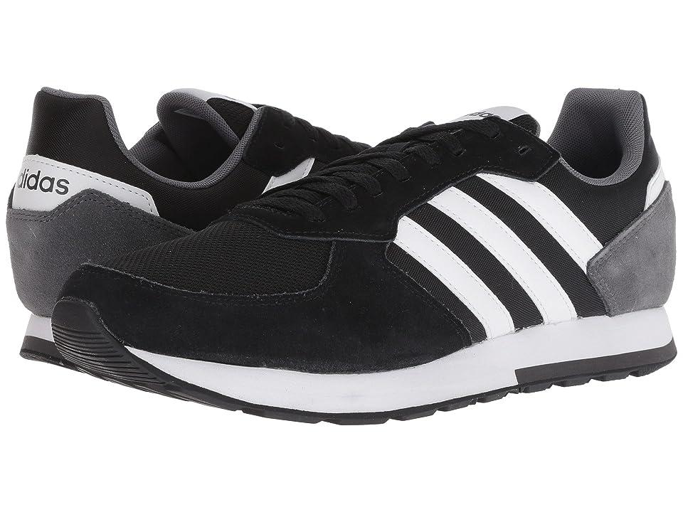 adidas 8K (Black/White/Grey Four) Men