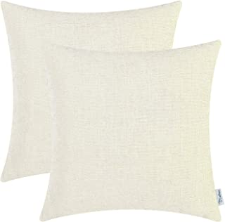 ivory colored throw pillows