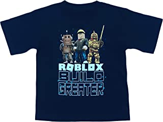 Roblox Build Greater Big and Little Boys T Shirt (XS (4/5))