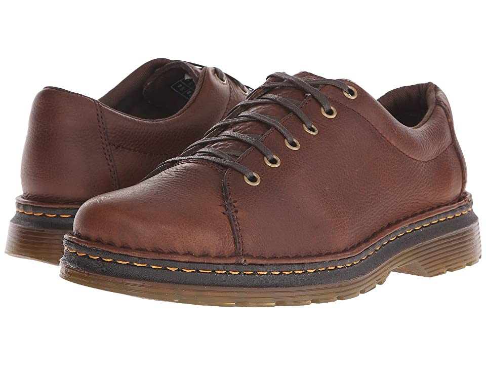 Dr. Martens Healy 6-Tie LTT Shoe (Dark Brown Grizzly/Hi Suede WP) Men
