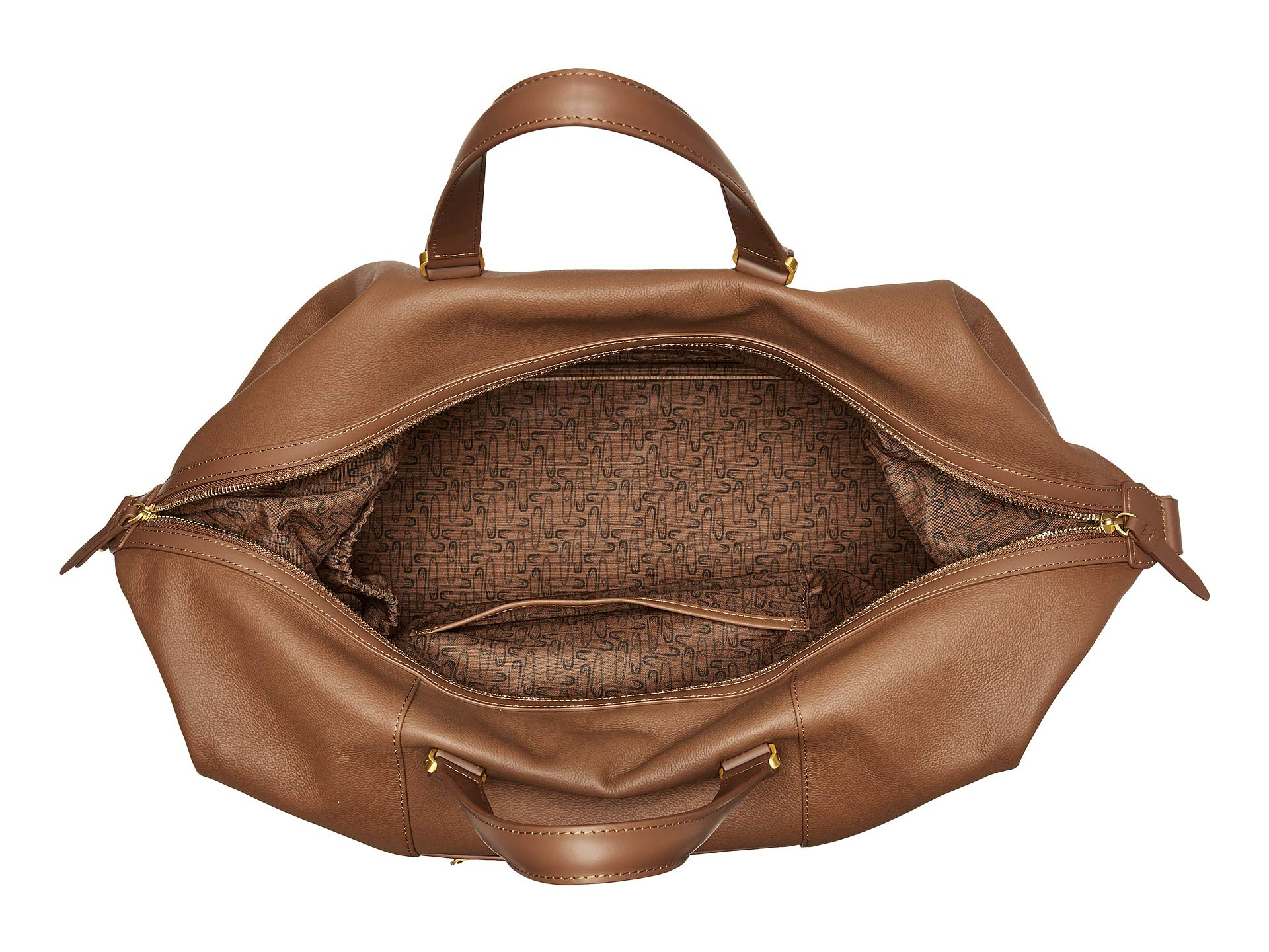 Lipault Bag Cognac Elegance Leather Plume Weekend Paris XwBqZrpX
