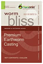 Worm Bliss Premium Vegan & Organic Earthworm Castings, (8 Quart)
