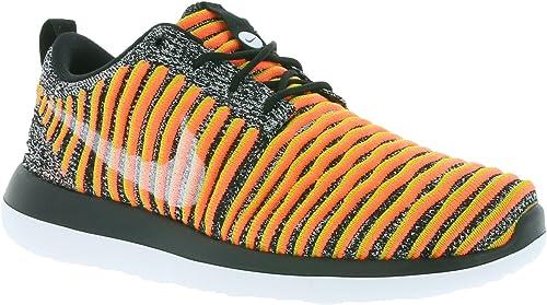 Nike W Roshe Two Flyknit MesLes dames paniers Noir 844929 005, Taille 36.5