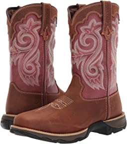 "Durango Lady Rebel 10"" WP Composite Square Toe"