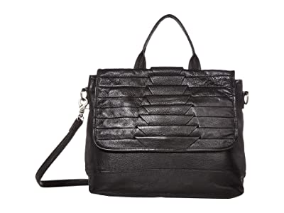 Day & Mood Brenna Top-Handle (Black) Handbags