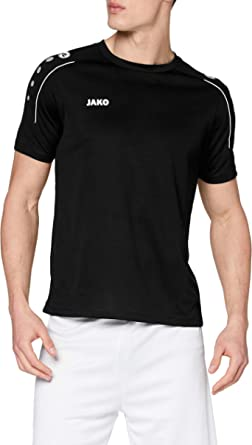 JAKO Barn T-shirt Classico, nattblå/citro, 152, 6150