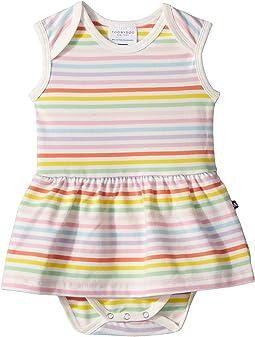 Toobydoo Rainbow Ballerina Romper (Infant)