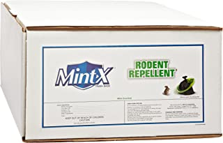 Mint-X Rodent Repellent Trash Bags, Commercial Sizes (Box of 100)