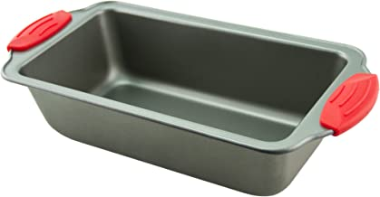 """Boxiki Kitchen Loaf Pan- Premium Non-Stick Steel 8.5-Inch Loaf Pan 