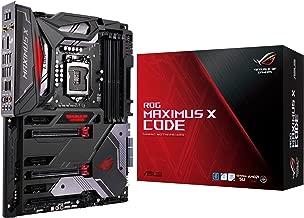 ASUS ROG Maximus X Code S LGA1151 DDR4 DP HDMI M.2 Z370 ATX Motherboard