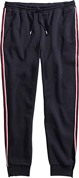 Joggers with Elastic Waist and Velcro® Outside Seams