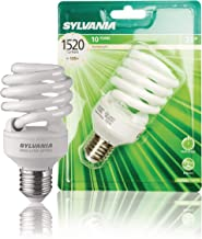 Sylvania 0035201 23 Watt E27 Spiral CFL Energy Saver Light Bulb Eqv to 105 Watt 1700K Warm White