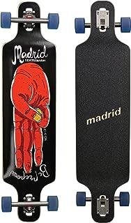 Madrid Longboard Trance & Weezer & Tombstone & Cloud, Drop de Through & Topmount Completo Tarjeta Freeride Cruiser Formas