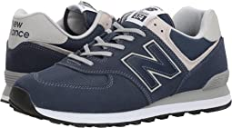free shipping c0422 25fe6 New balance 574 orange and blue + FREE SHIPPING | Zappos.com